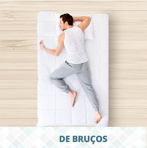 dormir de bruços - travesseiro ideal