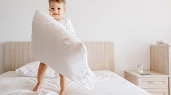 Entenda quais os melhores modelos de travesseiros para as crianças!